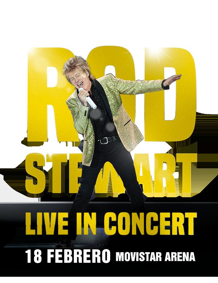 Rod Stewart en Chile