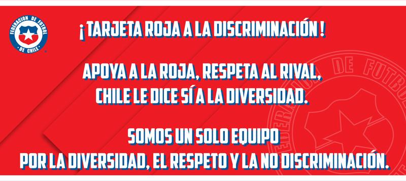 tarjeta roja  la discriminación