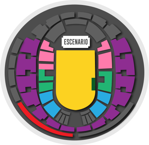 Mapa y Precios Concierto Arcade Fire en Chile