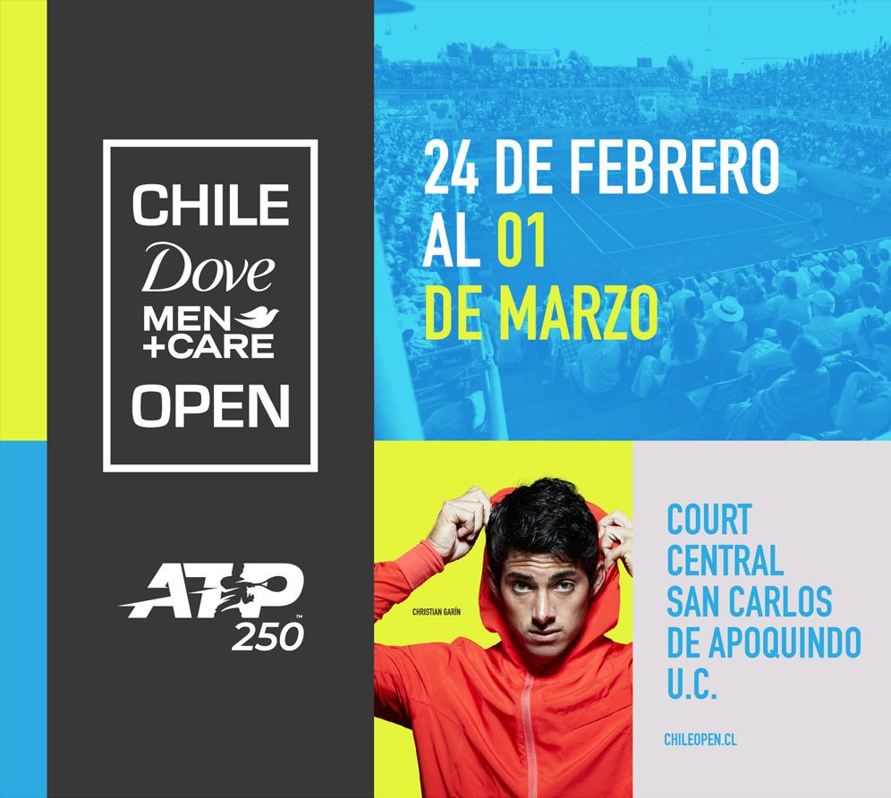 Chile Dove Men Care Open 2020 - Court Central San Carlos de Apoquindo U.C.