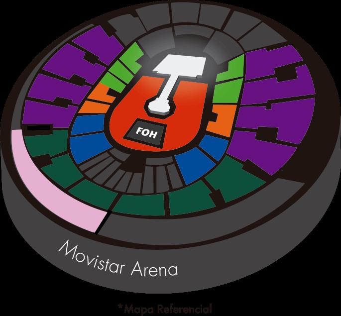 Movistar Arena - Imagen referencial
