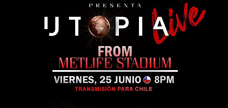Romeo santos UTOPIA LIVE viernes 25 junio 8pm