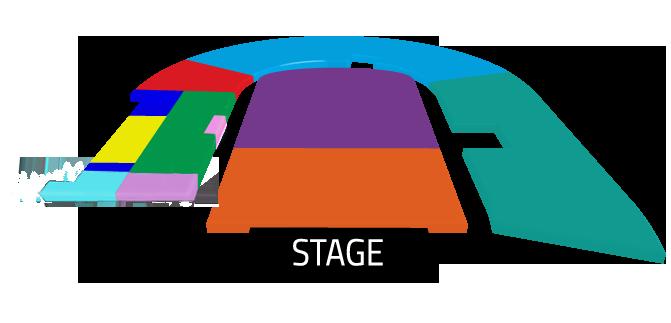 Mapa Bruno Mars Estadio Nacional - Entradas 2017