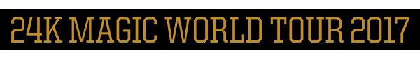 24K Magic World Tour - Bruno Mars