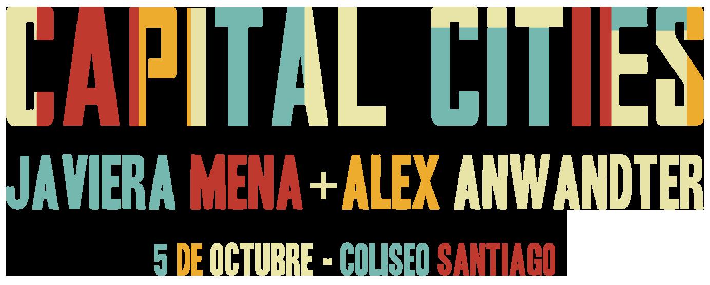 Entradas concierto Capital Cities en Santiago - Venta oficial para Chile, 5 de Octubre, Teatro Coliseo, Santiago