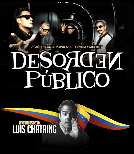 Desorden Público - 25 años 'Canto Popular de la Vida y Muerte' | Teatro Teletón - Santiago