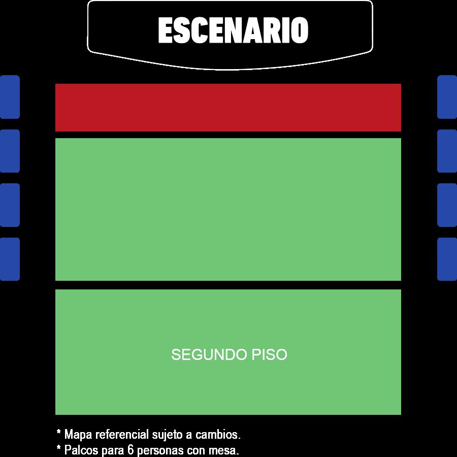 Teatro Teletón | Imagen referencial sujeta a cambios