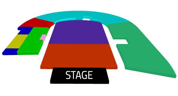 Mapa Depeche Mode Estadio Nacional - Entradas 2018
