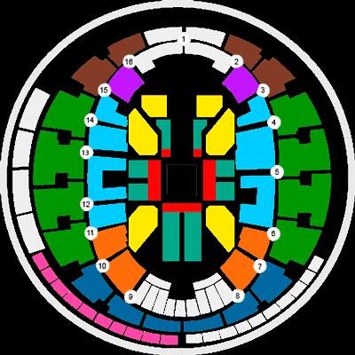 Mapa entradas y precios WWE Movistar Arena
