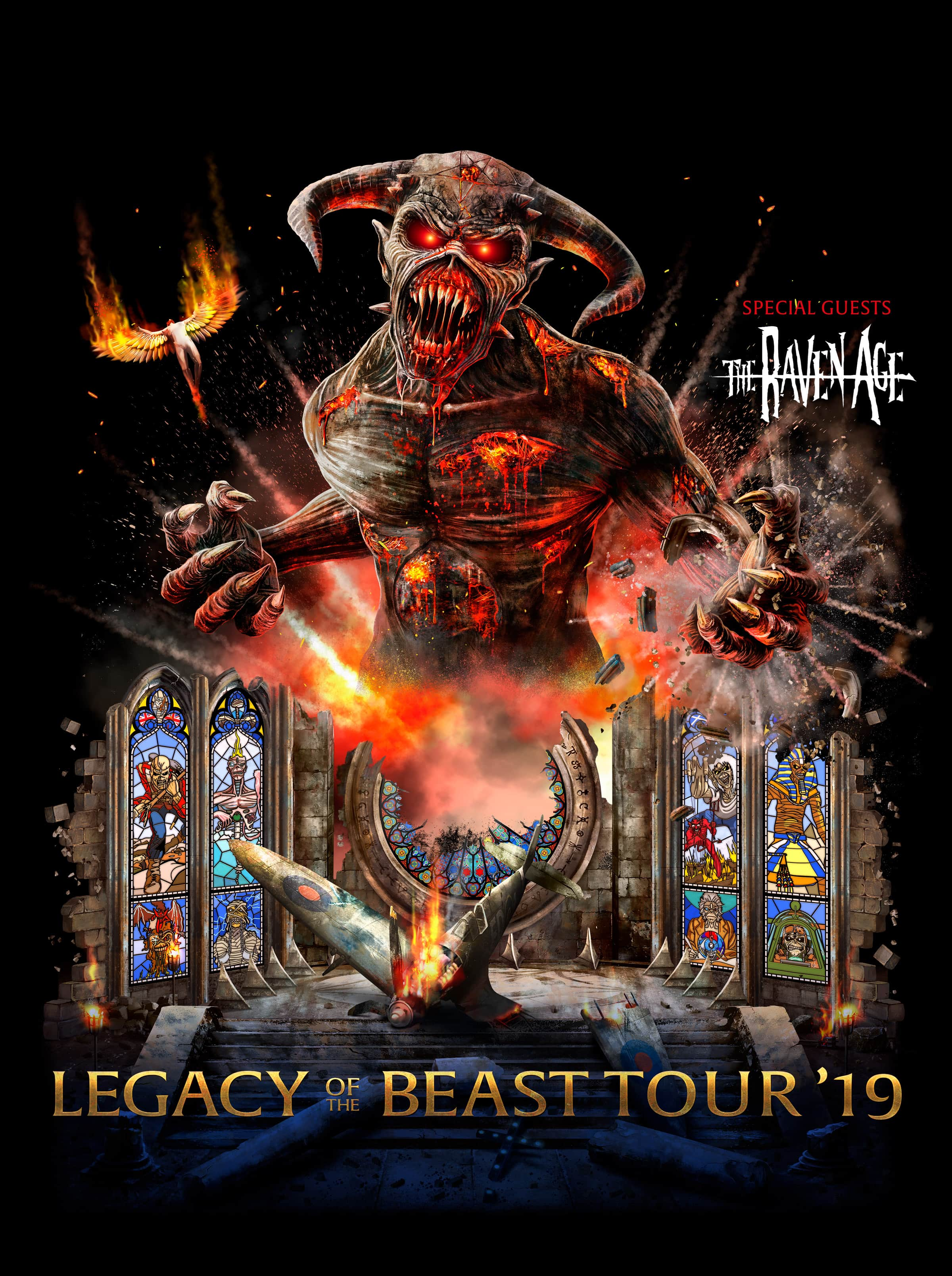 Legacy of the Beast Tour 2019