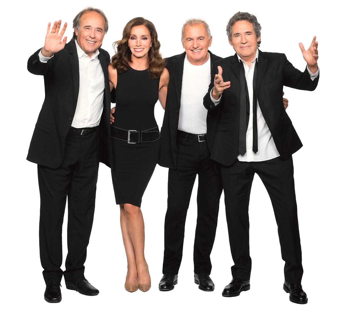 Concierto Joan Manuel Serrat, Ana Belén, Miguel Ríos, Víctor Manuel - Santiago de Chile