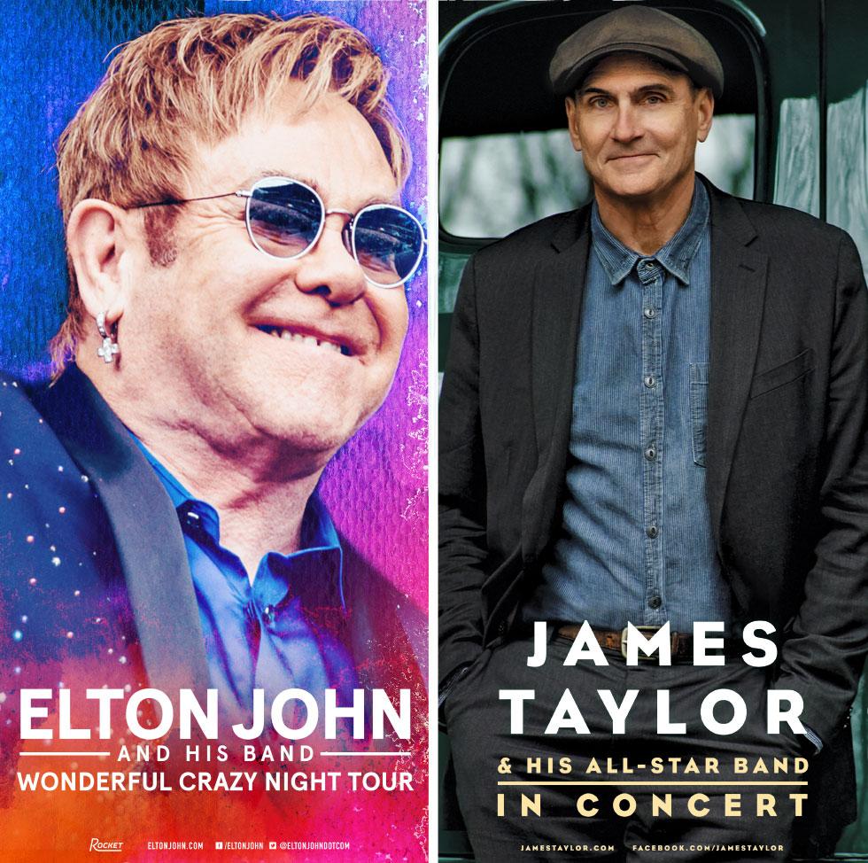 Entradas Elton John & James Taylor en Chile