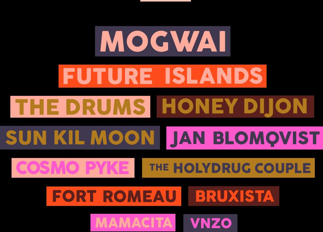 Line Up oficial Festival Fauna Otoño 2018