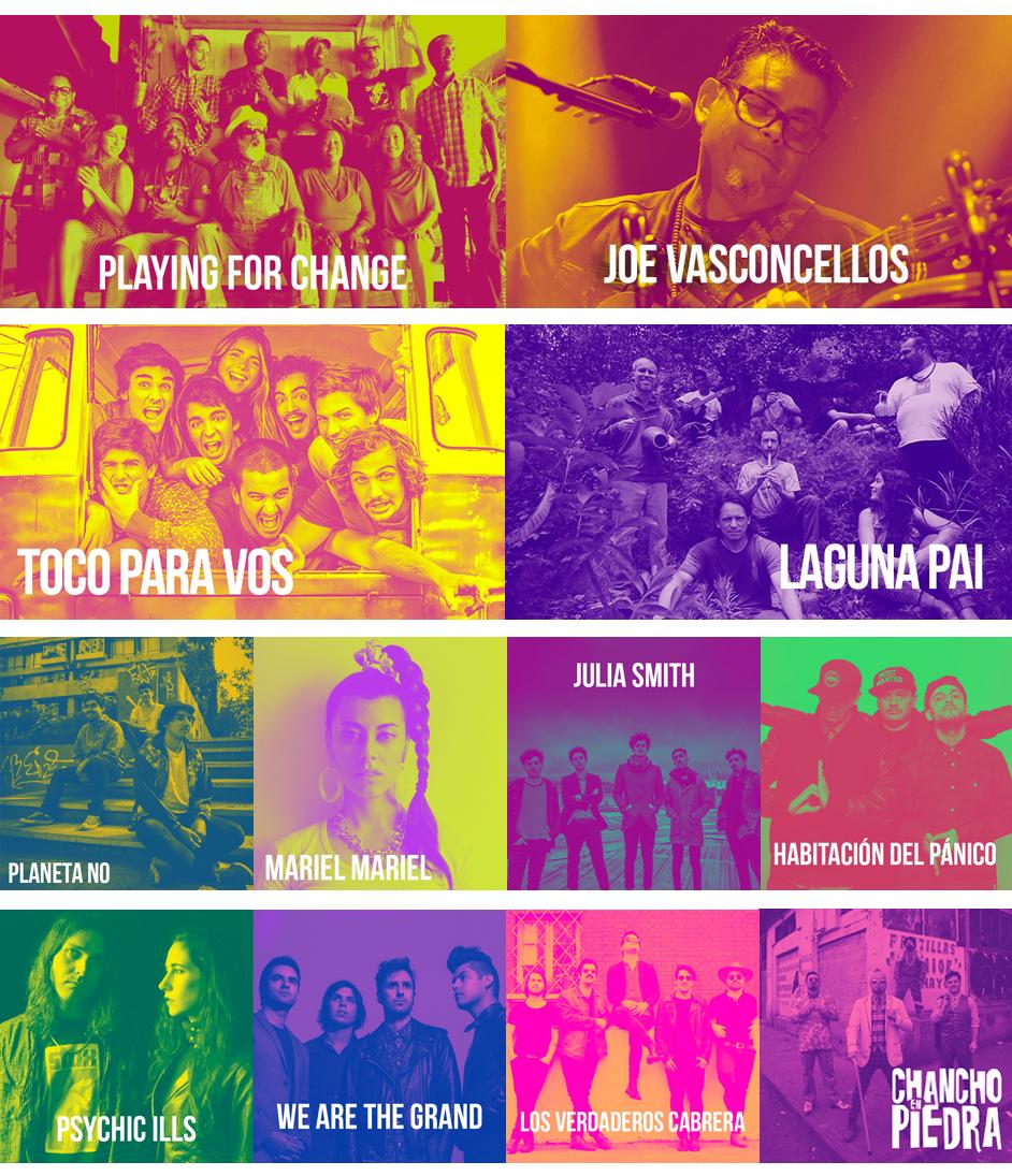 Bandas Santiago Festival fiiS 2016