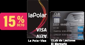 15% Dcto. La Polar Visa | Club de Lectores El Mercurio