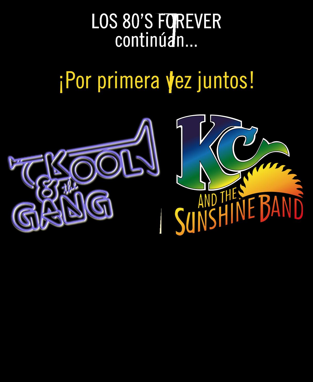 KC & The Sunshine Band + Kool & The Gang en Chile en Movistar Arena. ¡Reserva ahora tu entrada!