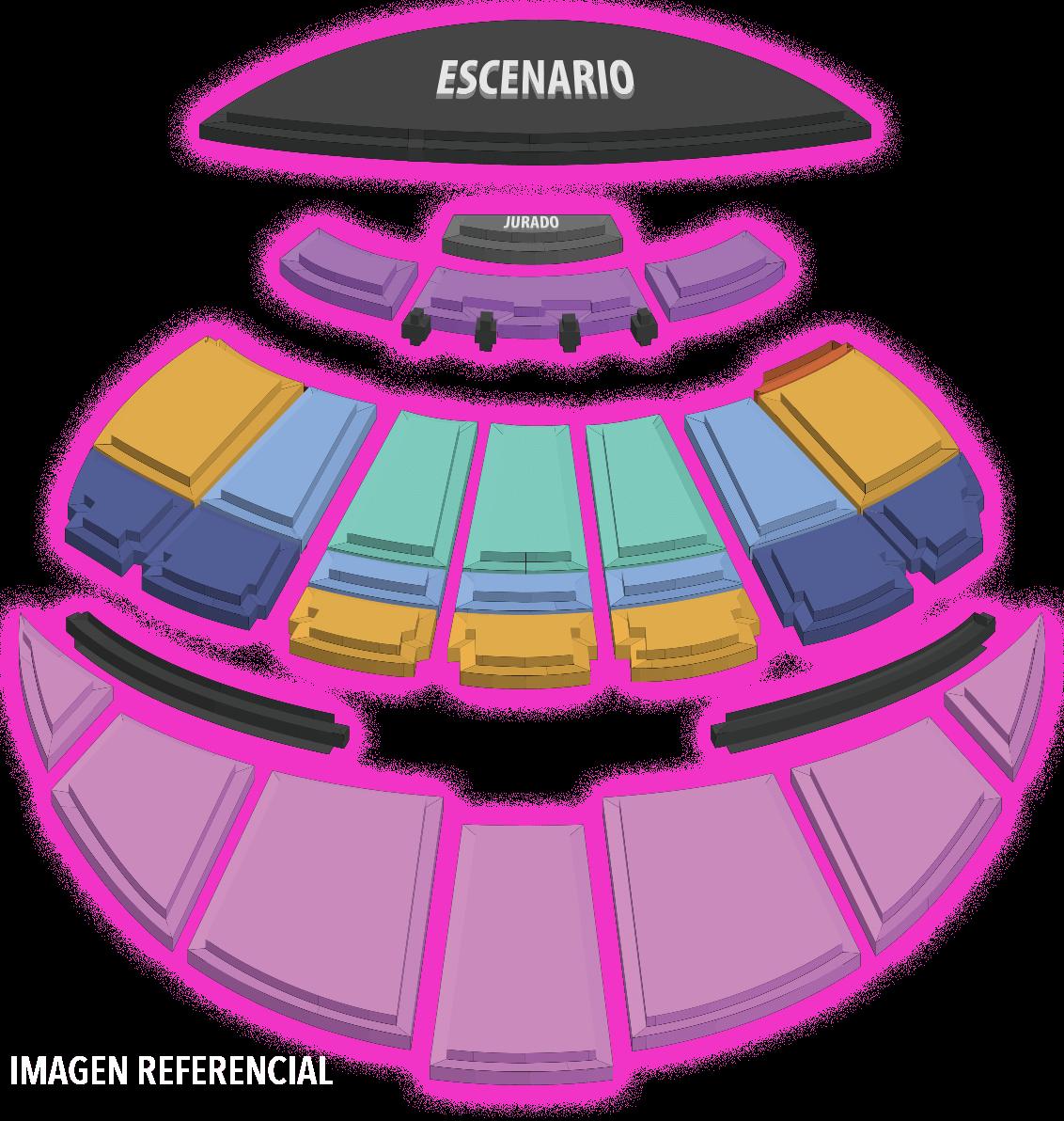 Mapa Quinta Vergara Festival Viña