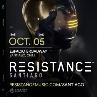 05 de octubre 2019 - Resistance Santiago