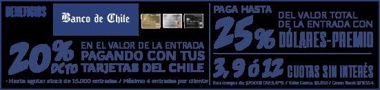 Descuento Banco de Chile
