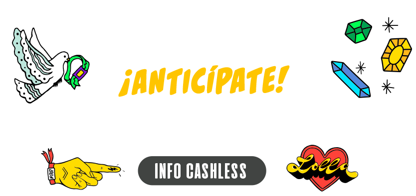 Promo cashless, anticípate y carga tu pulsera ahora.