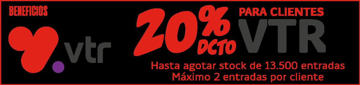 20% descuento VTR