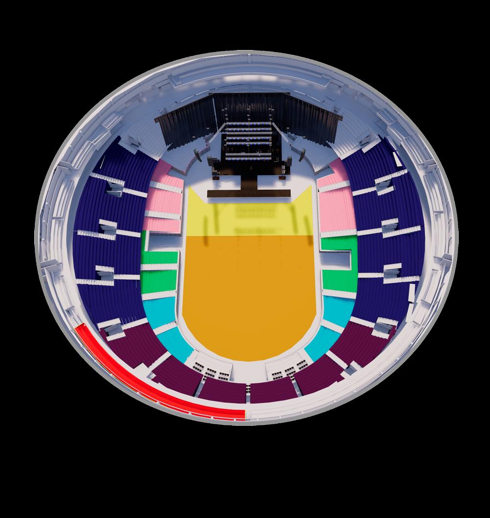 Mapa Movistar Arena Demi Lovato Precio Tickets