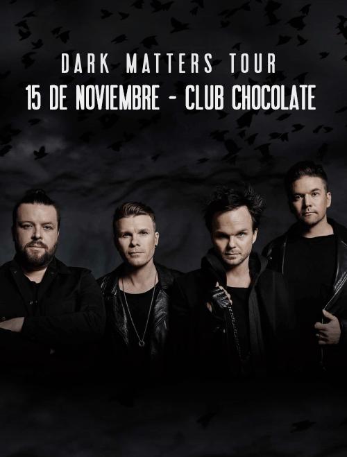 The Rasmus en Chile - 15 de Noviembre, Club Chocolate