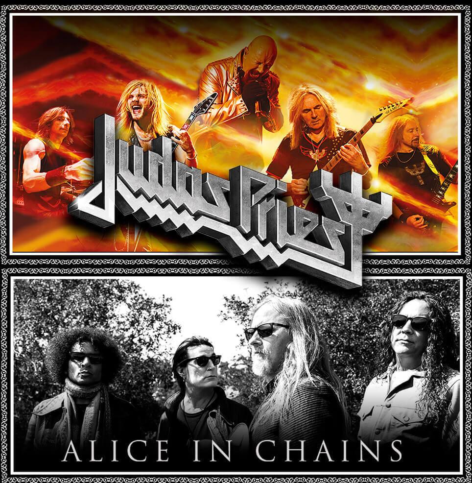 Judas Priest y Alice in Chains en Chile