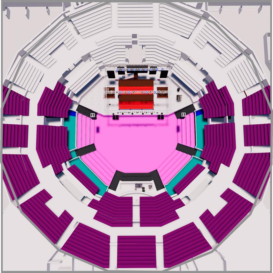 Mapa entradas y precios Bomba Estereo Teatro Caupolicán