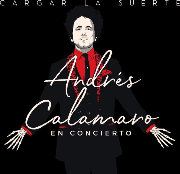 Andrés Calamaro en concierto - Cargar la Suerte
