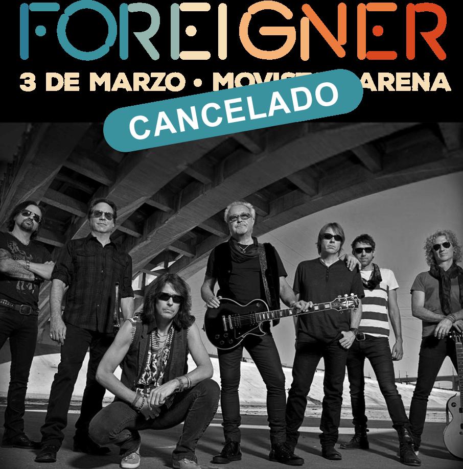 Foreigner | Evento cancelado