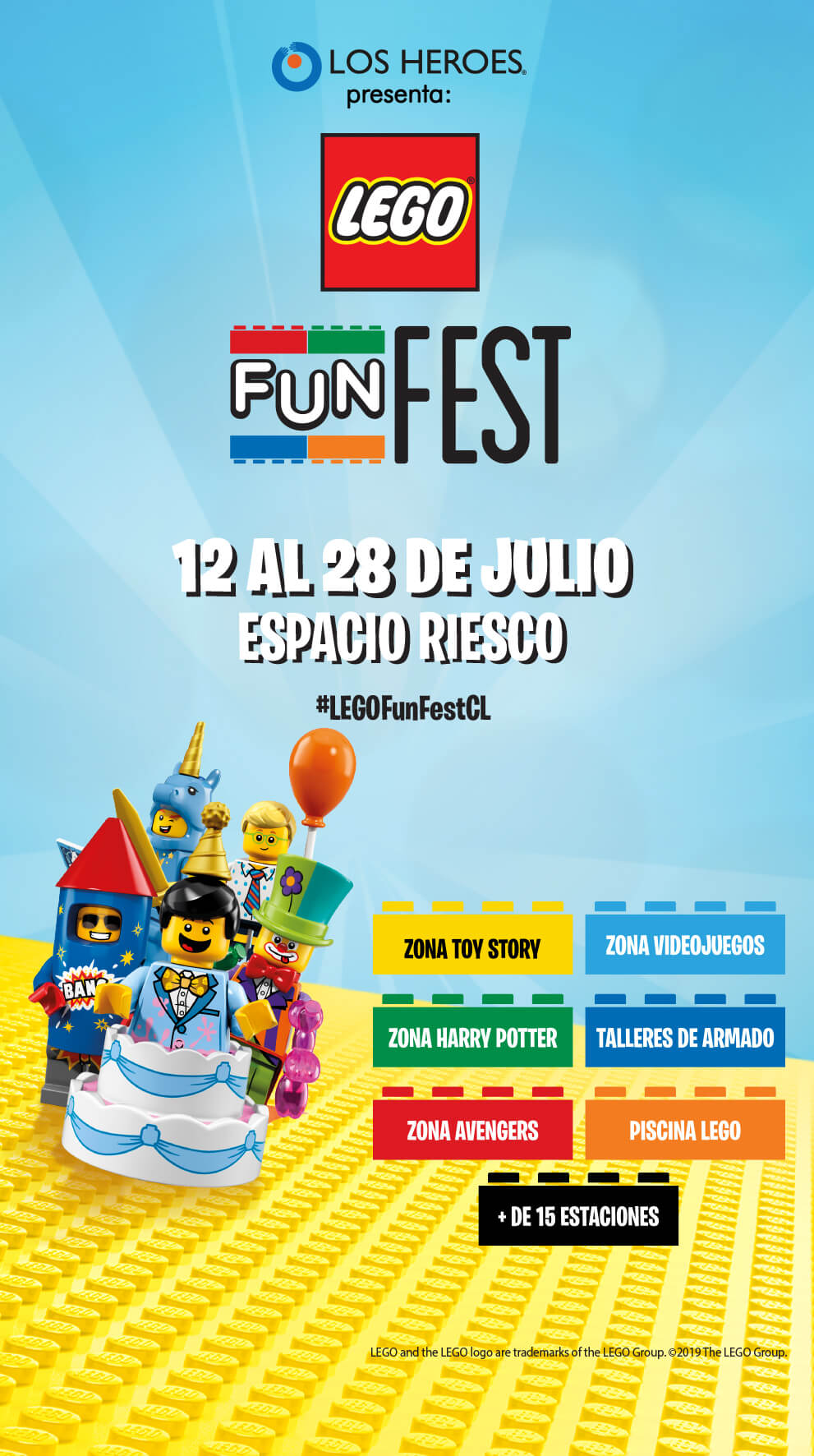 Lego Fun Fest 2019 en Chile