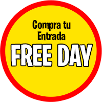 Compra aquí Tickets Free Day General
