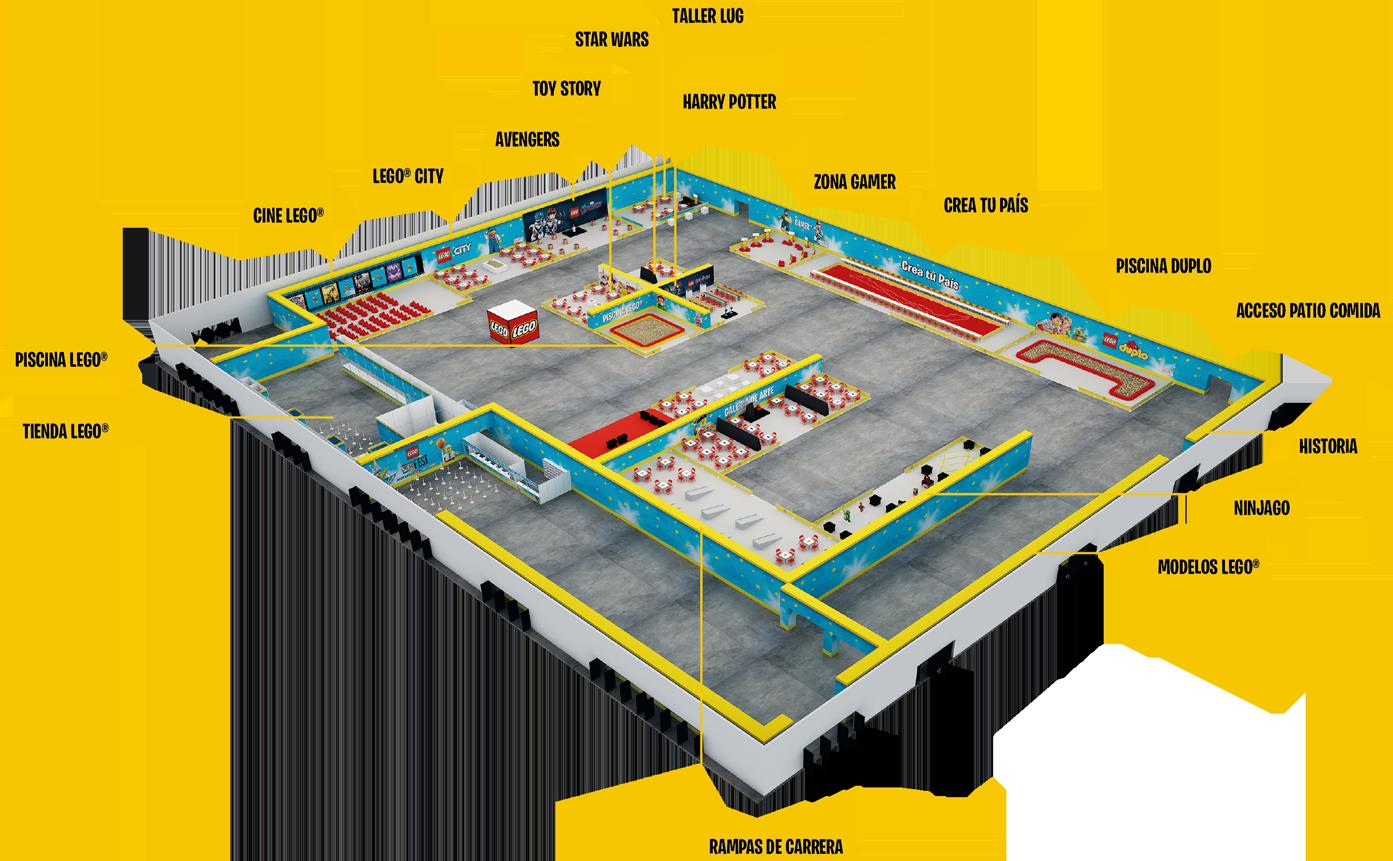 Plano Espacio Riesco - Imagen referencial