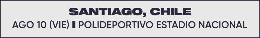 10 de Agosto, Polideportivo Estadio Nacional - Santiago