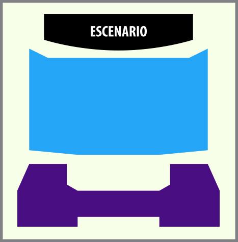 Mapa Teatro Teleton Concierto Momoland