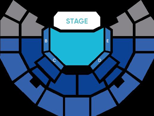 Mapa Day6 Teatro Caupolicán - Entradas 2018