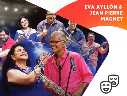 Nuevos rumbos Eva Ayllón y Jean Pierre Magnet Septeto