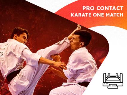 Pro Contac Karate - One Match