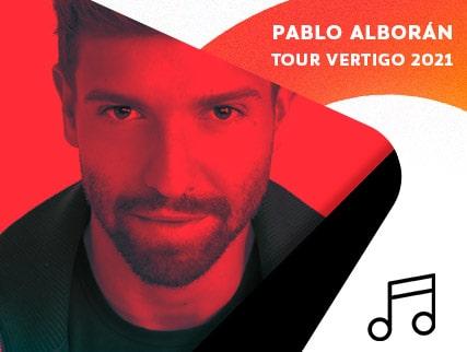Pablo Alboran - Tour Vertigo 2021