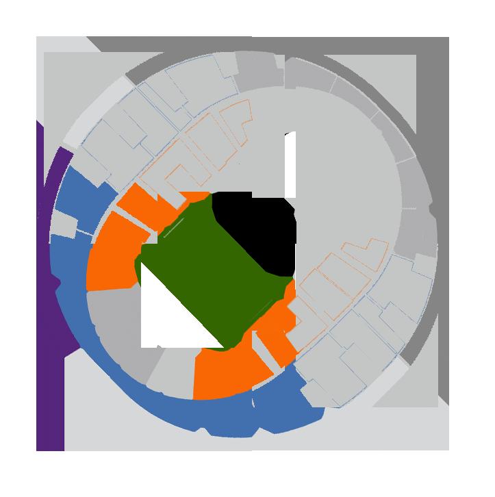 Mapa Prophets of Rage Movistar Arena - Entradas