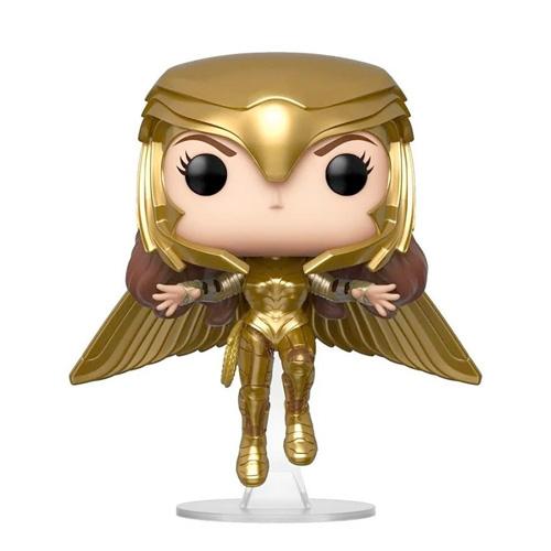 Funko Pop - Wonder Woman Golden Armor Flying - N° 324 - Wonder Woman 84