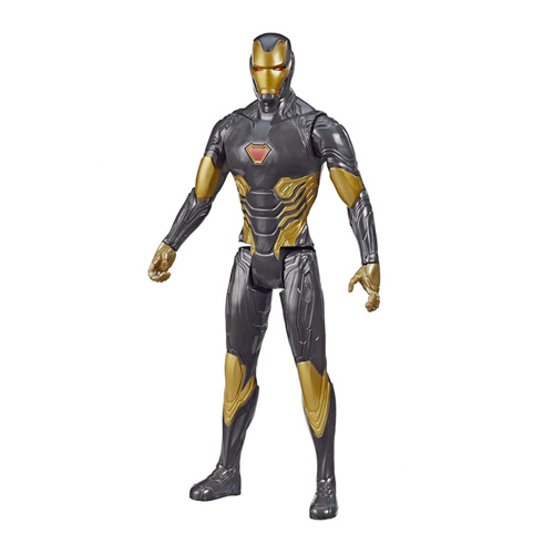 Iron Man - Oro - Titan Hero Series - Avengers - Figura 30 Cm - Hasbro