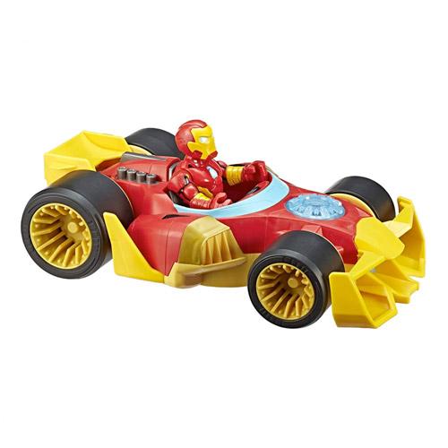Iron Man - Carro Poderoso - Marvel - Super Hero Adventures - Hasbro