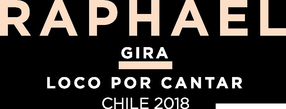 Venta entradas Raphael en Chile - Tour 2018