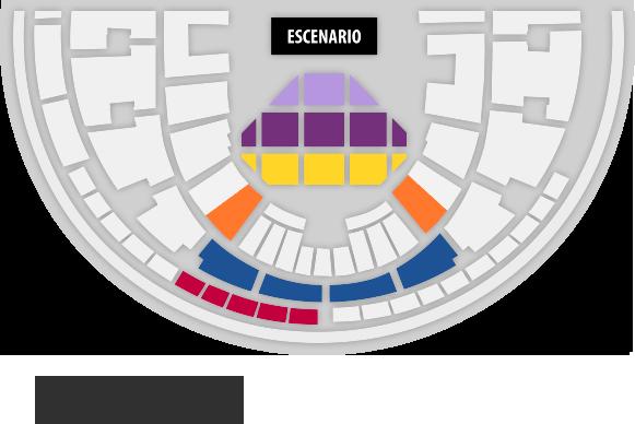 Mapa entradas Maria Callas Hologram Chile