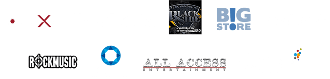 Auspician: Rockaxis - PowerMetal Black Side - Big Store - The Knife - Rockmusic - Agepec - All Access | Produce: The Fanlab