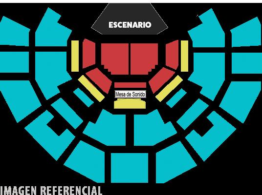 Teatro Caupolicán - 22 de marzo 2020 | Imagen referencial