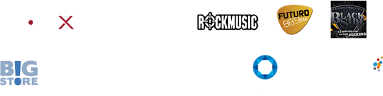 Auspician: Big Store - Rock Miusic - Black Side - PowerMetal.cl - Rockaxis - Radio Futuro 88.9 FM - Dynamo - Chargola | Produce: The Fanlab