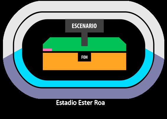 Mapa Maluma Concepción - Entradas 2018